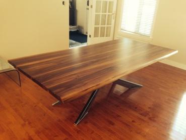 table noyer. Black Bedroom Furniture Sets. Home Design Ideas